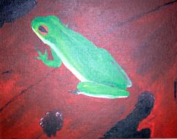 Frog by Trish87