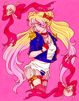 Hardcore!Sailor Moon by TentacleWaitress