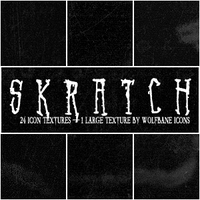Skratch Texture Set by jordannamorgan