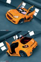 Peugeot 206 rerendered by BeyondDreams