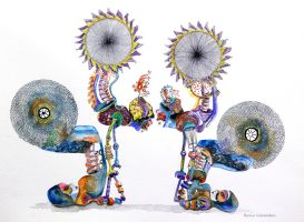 paraplegic contortionists by narkito