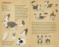Nezu's Ref Sheet by NezuPanda