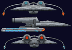 Star Trek Parallax Starship by CodeGeorge