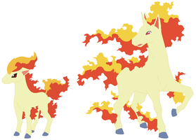Ponyta and Rapidash Base