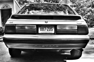 1988 Mustang LX by Marissa1997