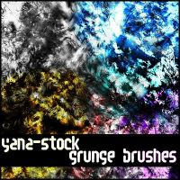 Grunge Brushes by yana-stock