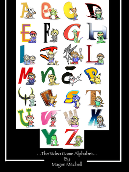 The ABCs of Video game cutenes by TrueAmericanIdiot247