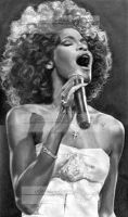 whitney houston by aramismarron