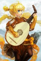 Minstrel Prince by JaneMere