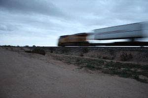 High Speed Freight by desertdogh