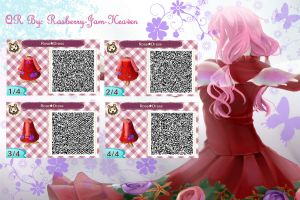 Guilty Crown: Inori Yuzuriha (QR code outfit 3) by Rasberry-Jam-Heaven