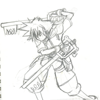 Sora's rage unleashed by Jynx-kun