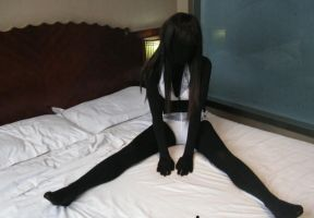 Black zentai by mysexyzentai