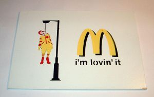 'now i'm lovin it' by 8ballart