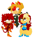 .:Ember and the Ember's:. by xAngel-Hedgehogx