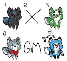 [Closed] Cat? Dog? Adoptables by GMadopts
