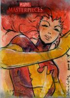 MM3 AP SketchCard:Dark Phoenix by Julianlytle