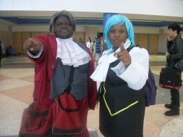 Objection- Miles and Franziska by uglyduckbella