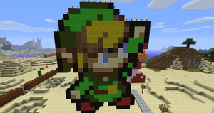 Minecraft: Link by Chaoslink1