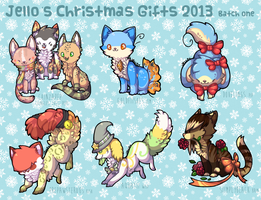 Christmas Gifts 2013 . Batch 1 by nightIights