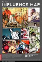 +Influence map+ by Kie-chan