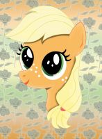 Applejack Filly by ulisesdarklight