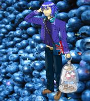 The Man of the Blueberry (Clayton's character) by Ichigo-Honda