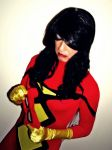 Spiderwoman Cosplay - Suiting Up by ozbattlechick
