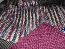 Colors, WIP scarf by Ryuus-Wardrobe