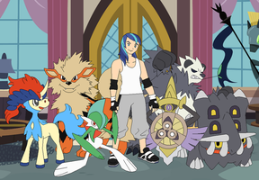 Elite Four Shining Armor