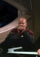 Sisko in progress by Sgrum