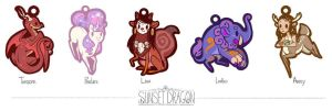 Monster Charm Sneak Peeks by Flying-Fox