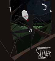 Slender: Movie Poster by Zombay-Senpai