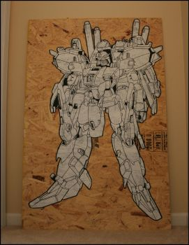 Gundam Three by truemarmalade