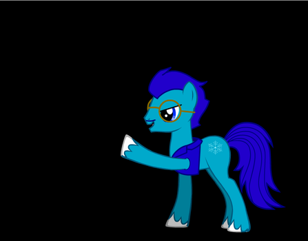Icey Axe (pointing) by IceyAxe