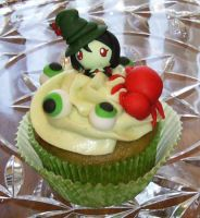 Gothel Cupcake by LaPetitLapearl