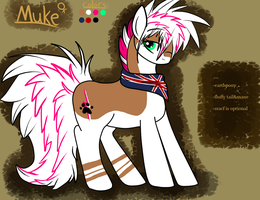 reference sheet of Muke OUTDATED by Muketti