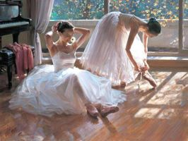 Ballet oil paintings1 by oilpaintingseller