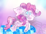 Mario and Luigi Dream Team Style Pinkie Pie by GamingStarLuigiSin