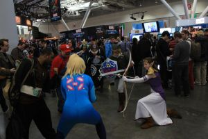 PAX East 2013 - FIGHT FOR NINTENDO! 1 by VideoGameStupid