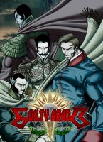 GUILTY ARADO-Fathers of La Patria color by BRAINandFAT