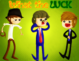 What the Luck Title Card by Anti-Dark-Heart