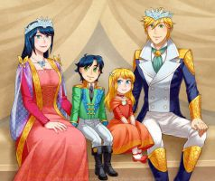 The Royal Agreste Family by piku-chan