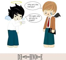 Death Note Why is Light the bad guy? by Puffypaw