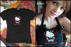 Hello Kitty Halter by Strawberry-Ice