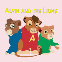 Alvin and the Lions by M0N0KUMA