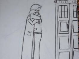 The 10th Doctor and Rose by Meadowsweet3