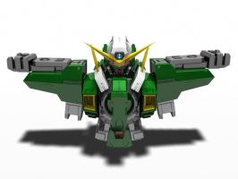 Gundam Dynamens updated by nepunicorn