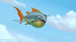 Flying Fish by Edarneor