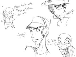tf2 doodles by ekses